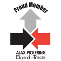 Ajax Pickering Board of Trade Proud Member logo