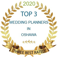 Top 3 Wedding Planners in Oshawa 2020 logo
