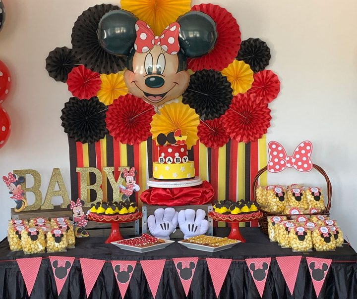 Baby Shower - Mickey Mouse Theme
