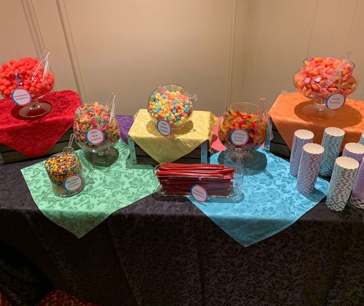 Bar Mitzvah Candy Table