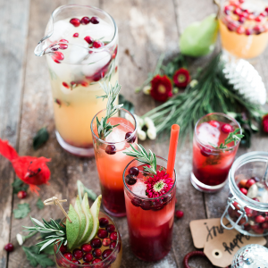 Holiday party drinks